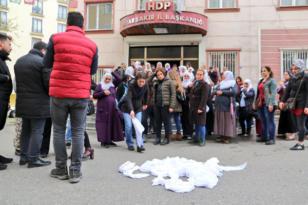 Diyarbakır'da Gebze protestosu