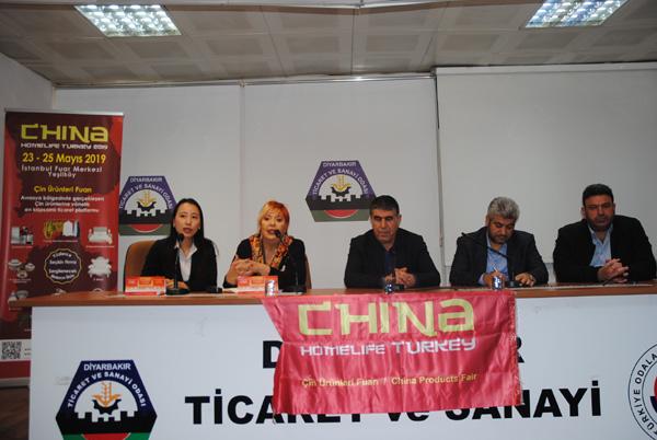 DTSO'da China Homelife Fuar tanıtım toplantısı yapıldı
