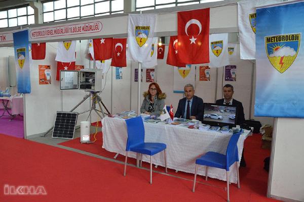 VİDEO HABER: Diyarbakır Meteoroloji Bölge Müdürlüğü tarım fuarında stant açtı