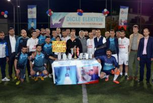 Geleneksel Dicle Elektrik halı saha futbol turnuvası başlıyor