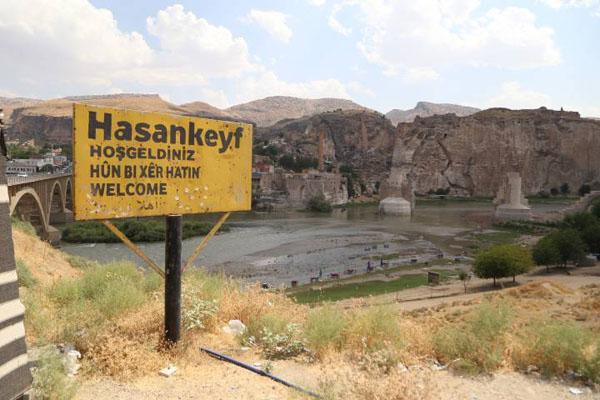 Hasankeyf'te su tutulması ertelendi