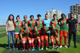 Amedspor'un kadın futbolcular rahatladı
