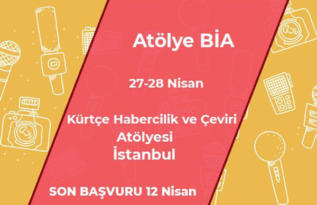 Kürtçe Habercilik ve Çeviri Atölyesi'ne Çağrı