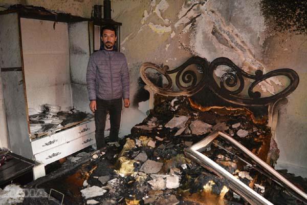 VİDEO HABER: Çıkan yangında faciadan dönüldü