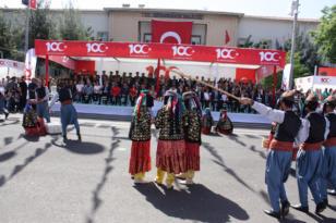 Bölgede 19 Mayıs kutlamaları