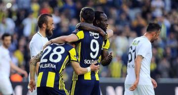 Fenerbahçe kazandı, Akhisarspor küme düştü