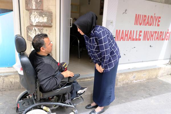 Diyarbakır'ın 'Dilek annesi' yine görevde