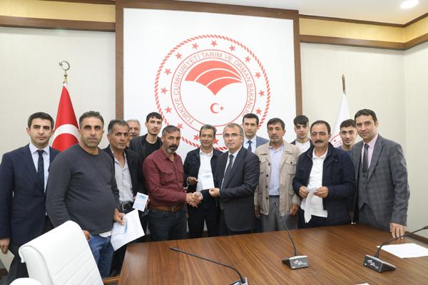 Diyarbakır'da hayvan refahı kursu verildi