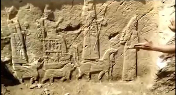 VİDEO HABER: Su çalışması yapılırken tarihi eser keşfedildi