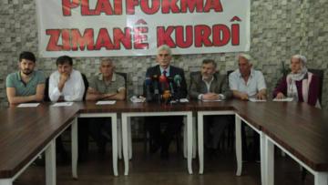 Kürt Dil Platformu'ndan Kürtlere çağrı; Ana diline sahip çık