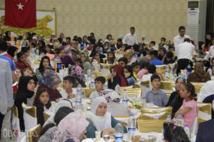 Video Haber: Kızılay Sur Şubesinden yetimler için iftar