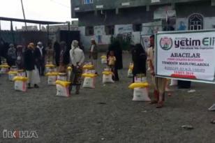 VİDEO HABER: Köy halkından Yemen'e yardım