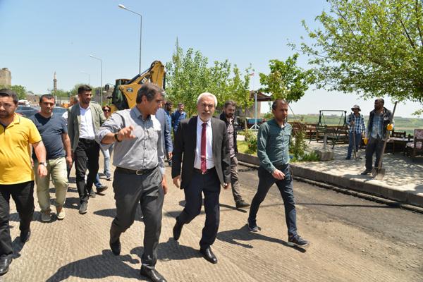 Mardinkapı-Kabe Köprü hattı yenileniyor