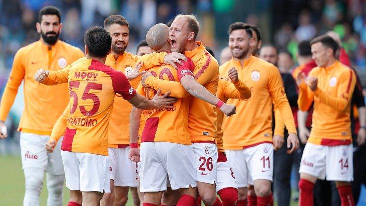 Galatasaray uzatma dakikalarında kazandı