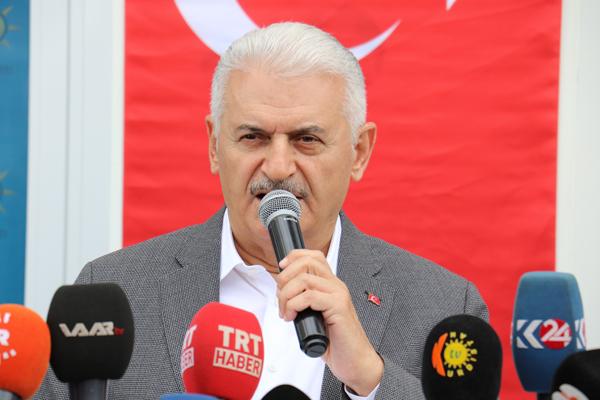 Yıldırım'dan 'Kürdistan' vurgusu