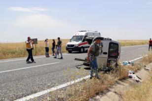 Tatil dönüşü kaza: 1 ölü, 4'ü ağır 6 yaralı