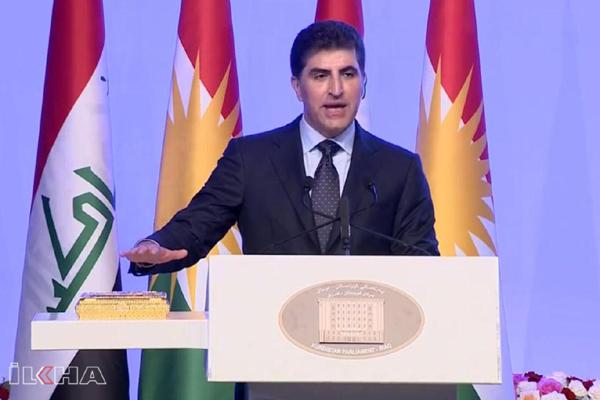 Yeni Başkan Barzani yemin etti