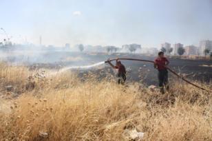 Anız ve kurumuş ot yangınları durdurulamıyor