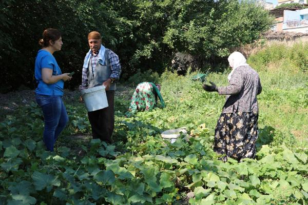 Sur Belediye Eşbaşkanı Hevsel'deki üretici kadınlarla buluştu