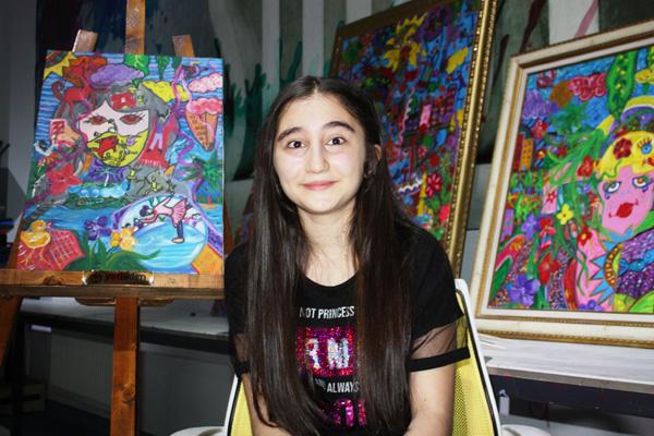 Diyarbakır'ın dünya resim birincisi