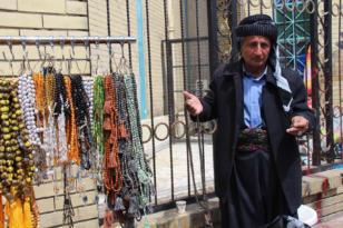 Video Haber: Süleymaniye'de tespihlere olan ilgi dikkat çekiyor