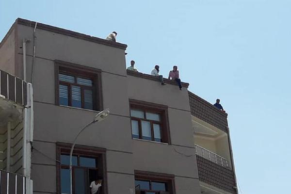 Video Haber: İşçilerden toplu intihar girişimi
