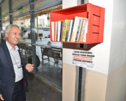 DİŞTİ'de kütüphane oluşturuldu