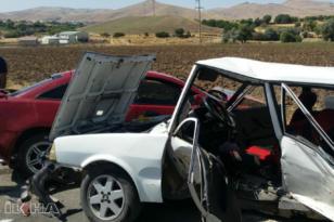 VİDEO HABER – Otomobiller çarpıştı: 6 yaralı