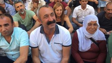 Maçoğlu'ndan kayyım protestosuna destek