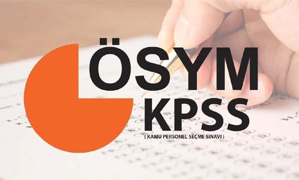 KPSS Ön Lisans Sınavı yarın yapılacak