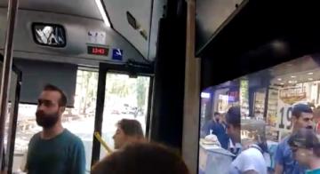 HDP Gençlik Meclislerinden belediye otobüslerinde eylem