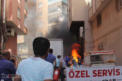 Video Haber: Jeneratörde çıkan yangın gaz dolu tüplere sıçramadan önlendi