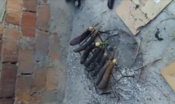 Video Haber: Patlıcan közleme faciası: 4 yaralı