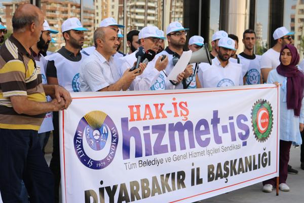 BEM BİR-SEN'den işten çıkarılan işçilere destek
