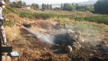 Büyükşehir belediyesi, ilaçlama çalışması başlattı