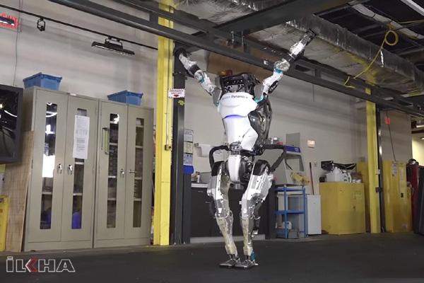 Video Haber: Jimnastik hareketler yapabilen robot üretildi