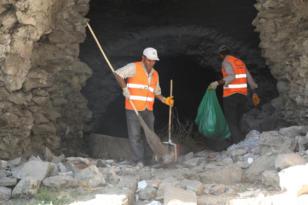 Tarihi Surlar ve çevresi temizleniyor!