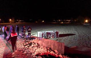 Askeri araç kaza yaptı: 26 yaralı