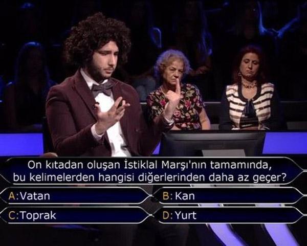 Son soru ilk kez doğru cevaplandı