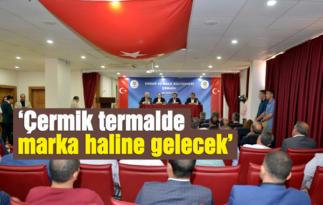 Vali Güzeloğlu, Çermik'te esnaf ve vatandaşlarla buluştu