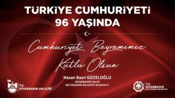 Güzeloğlu'ndan 29 Ekim Cumhuriyet Bayramı mesajı