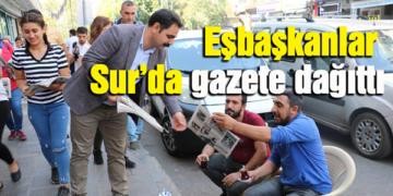 Vatandaşlardan gazete almaları ve gazetelere destek verilmesi istendi