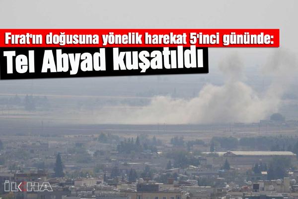 VİDEO HABER – Tel Abyad yoğun bombardıman altına alındı
