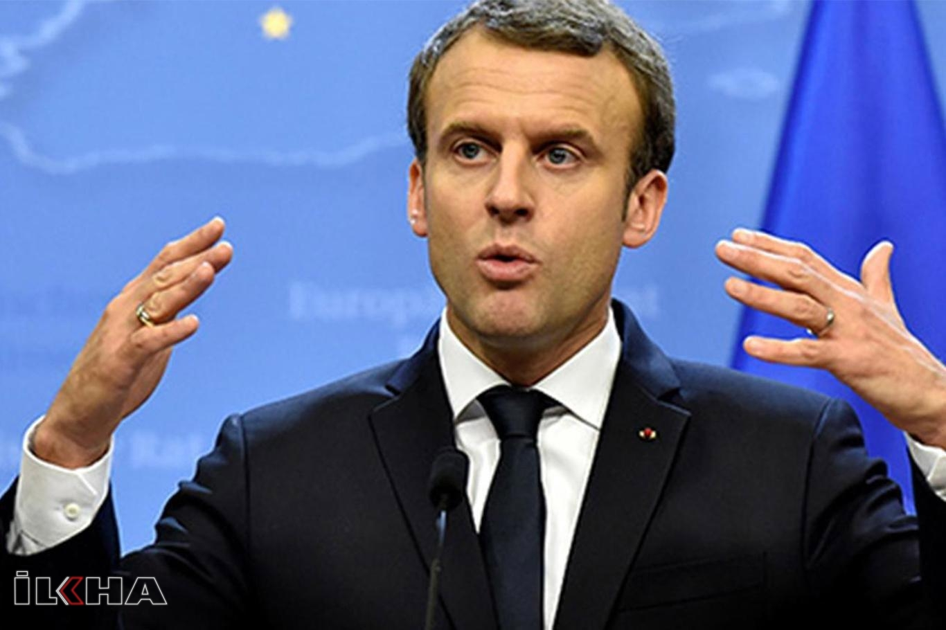DÜ Senatosu'ndan Macron'a tepki