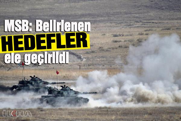 Milli Savunma Bakanlığı'ndan 'Barış Pınarı Harekâtı' açıklaması