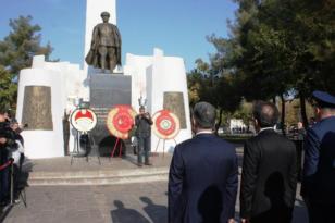 Bölgede 10 Kasım Atatürk'ü anma törenleri
