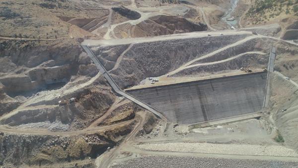 Çermik Kale Barajı 139 bin 420 dekar tarım alanını sulayacak