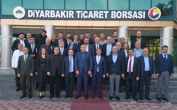 Diyarbakır Ticaret Borsası üye ve çalışanlarına test yapıldı