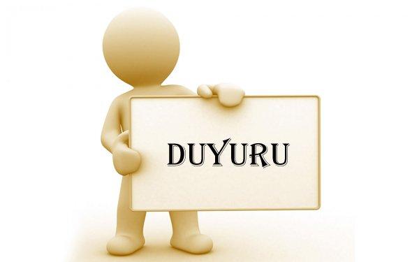 Jeoloji Mühendisleri Odası Diyarbakır Şubesi'nden duyuru!