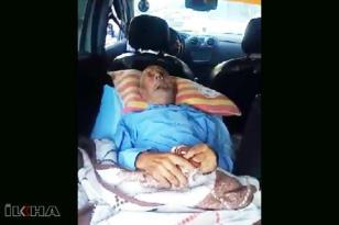 Ambulans tahsis edilmeyen yatalak hasta bagajda taşındı!